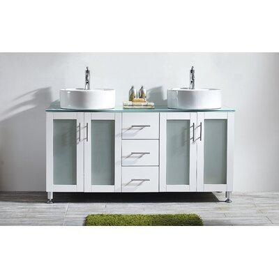 Boswell 60 Double Vanity Set