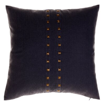 Bosworth Jessa Throw Pillow Color: Iron