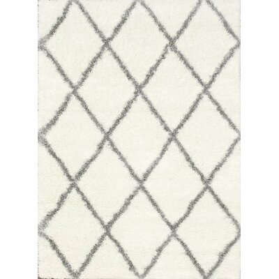 Bronson Off-White Area Rug Rug Size: Rectangle 67 x 9