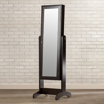 Lily Jewelry Armoire with Mirror