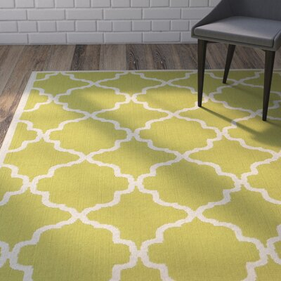 Alvarez Green Indoor/Outdoor Area Rug Rug Size: 710 x 1010