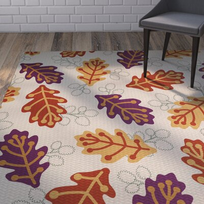 Avalos Purple Indoor/Outdoor Area Rug Rug Size: 3 x 5