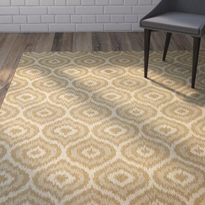 Aker Natural Indoor/Outdoor Area Rug Rug Size: 53 x 76