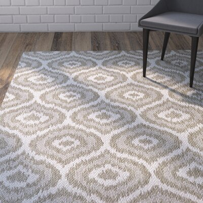 Aker Silver Indoor/Outdoor Area Rug Rug Size: 9 x 12