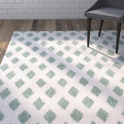 Norvell Beige/Green Area Rug Rug Size: 8 x 10