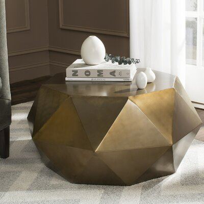 Varga Coffee Table Color: Light Copper