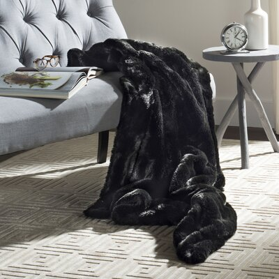 Adlai Faux Mink Throw