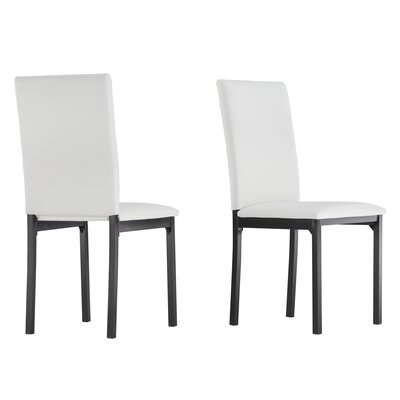 Nikon Side Chair Upholstery: White