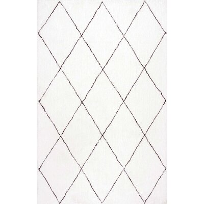 Glade Armitra Ivory Area Rug Rug Size: 9 x 12