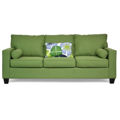 Charis�Sofa Upholstery: Flanders Forest / Pure Petals Leaf