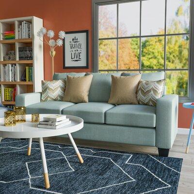 Audrey Sofa Upholstery: Blast Seafoam / Quadrille Sage