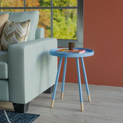 Fortney Tray Table Color: Heritage Blue