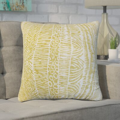 Berriman Throw Pillow Cover Color: Amber