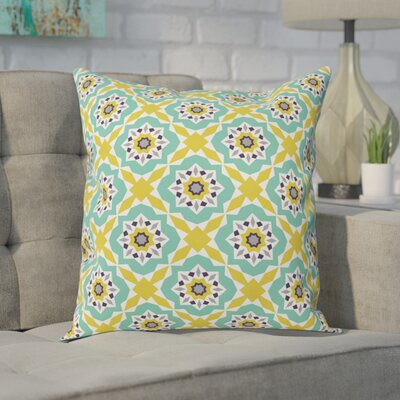 Spence Outdoor Throw Pillow Size: Large