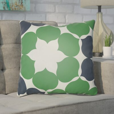 Anderson Mill Throw Pillow Size: 18 H x 18 W x 4 D, Color: Green/Blue