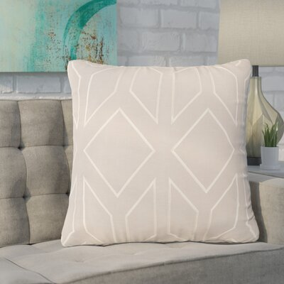 Baccus 100% Linen Throw Pillow Cover Size: 20 H x 20 W x 1 D, Color: GreenNeutral