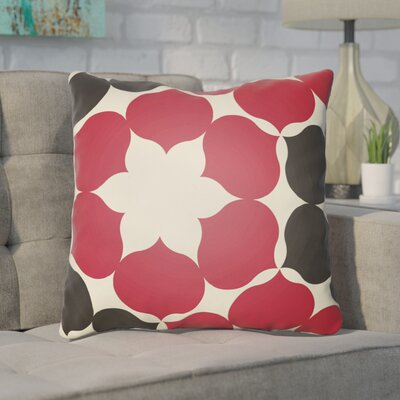 Anderson Mill Throw Pillow Size: 18 H x 18 W x 4 D, Color: Red/Brown