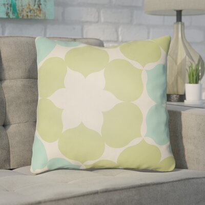 Anderson Mill Throw Pillow Size: 18 H x 18 W x 4 D, Color: Green/Turquoise