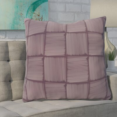 Urso Geometric Print Throw Pillow Color: Purple