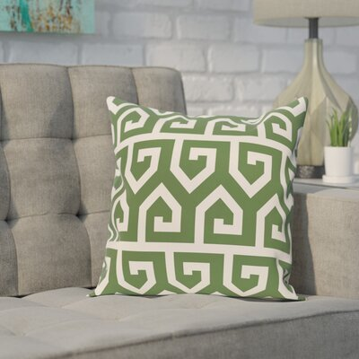 Alber Geometric Print Throw Pillow Size: 18 H x 18 W, Color: Gray