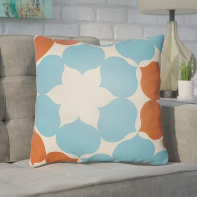 Anderson Mill Throw Pillow Size: 22 H �x 22 W x 4 D, Color: Blue/Orange