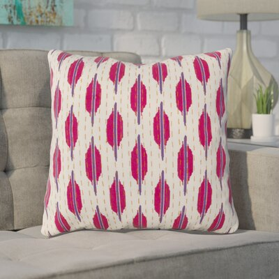 Veatch Pillow Cover Color: Sapphire/Peony