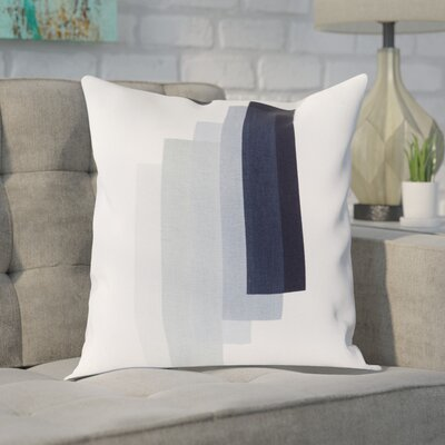 Gilberto 100% Cotton Pillow Cover Size: 18 H x 18 W x 1 D, Color: NeutralGray