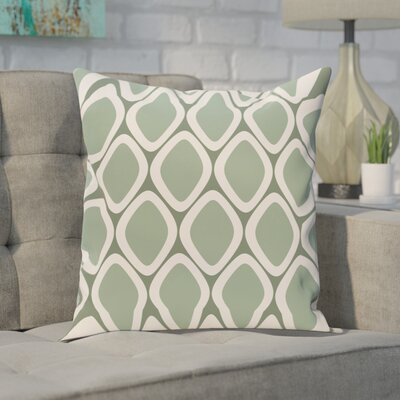 Sevier Geometric Print Outdoor Pillow Color: Wintergreen, Size: 16 H x 16 W x 1 D