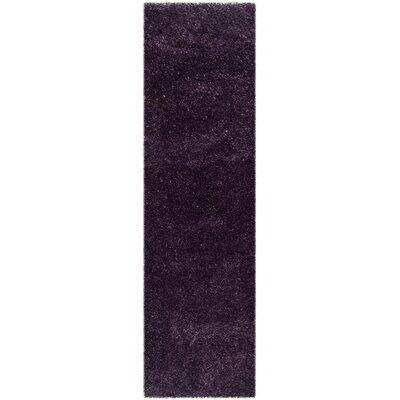Virgo Lavender Area Rug Rug Size: Runner 23 x 8