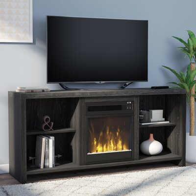 Cadle TV Stand with Electric Fireplace