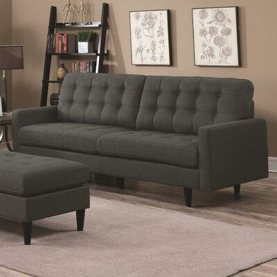 Efimov Sofa Upholstery: Charcoal