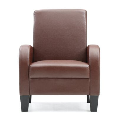 Tiff Occasional Armchair Color: Brown