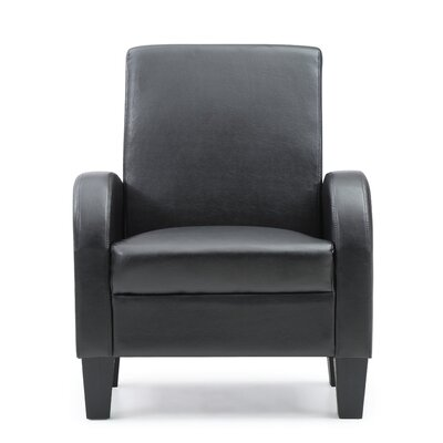 Tiff Occasional Armchair Color: Black