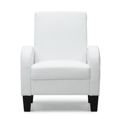 Tiff Occasional Armchair Color: White