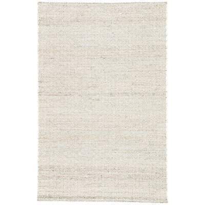 Vandenberg Hand-Woven Wool Brown Area Rug Rug Size: Rectangle 4 x 6