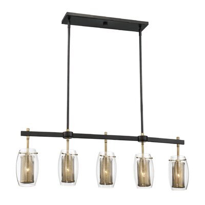 Depp 5-Light Kitchen Island Pendant