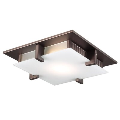 Altha Semi Flush Mount Finish / Size / Bulb Type: Oil Rubbed Bronze / 12 / J118mm