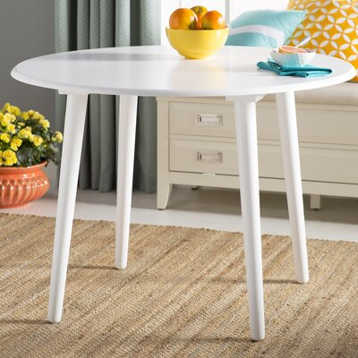 Myrtie Dining Table Finish: White