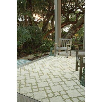 Morgan Green Santorini Trellis Outdoor Area Rug Rug Size: Rectangle 710 x 11