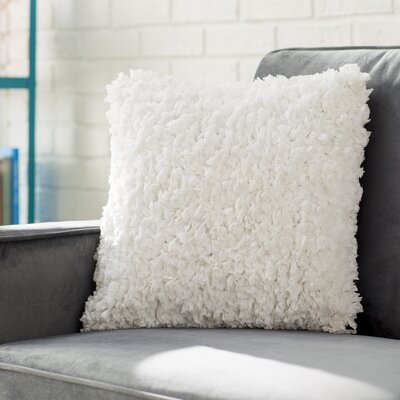 Bresnahan Throw Pillow Color: White