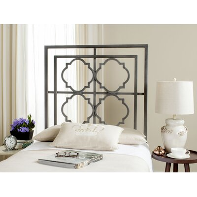 Cepheus Open-Frame Headboard Size: King, Color: Antique Iron