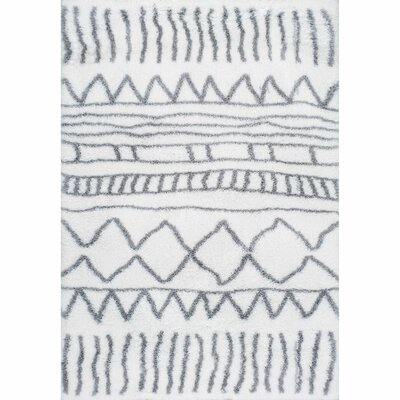 Norby Gray Area Rug Rug Size: Rectangle 4 x 6