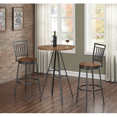 Filmore 3 PC Pub Height Table Set