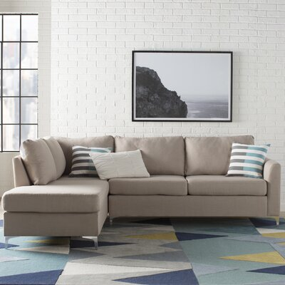 Bickel Sectional Upholstery: Beige