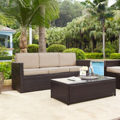 Belton Sofa with Cushion Fabric: Sand