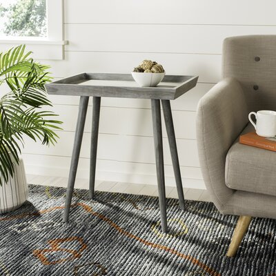 Bulger Tray End Table Finish: Slate Gray