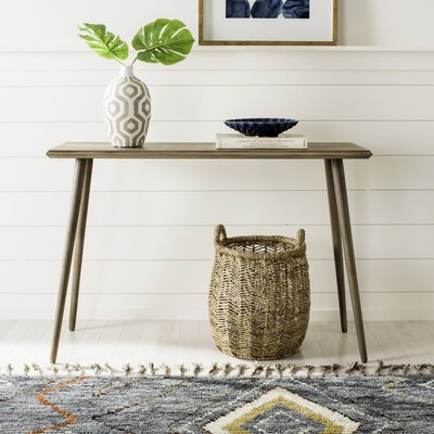 Bulkley Console Table Finish: Desert Brown