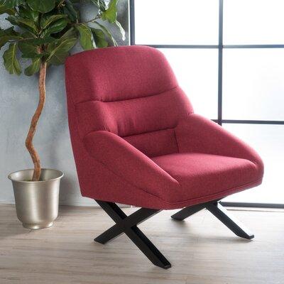 Davalos Armchair Upholstery: Deep Red