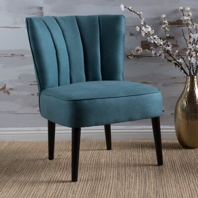 Bugarin Side Chair Upholstery: Dark Teal