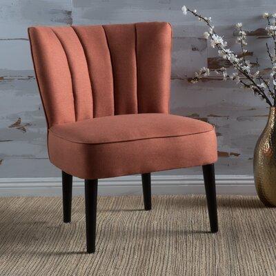 Bugarin Barrel Chair Upholstery: Orange
